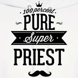 100 percent pure super priest Hoodies - Men's Hoodie