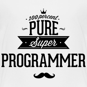 100 percent pure super programmer Baby & Toddler Shirts - Toddler Premium T-Shirt