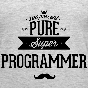 100 percent pure super programmer Tanks - Women's Premium Tank Top