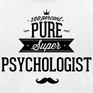 100 percent pure super psychologist T-Shirts - Men's T-Shirt by American Apparel