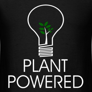 PLANT POWERED2.png T-Shirts - Men's T-Shirt
