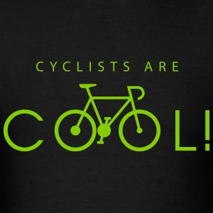 cyclists_are_cool_09_2016 T-Shirts - Men's T-Shirt