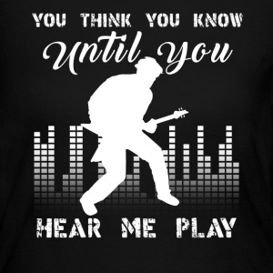 Electric Guitar Player - Women's Long Sleeve Jersey T-Shirt