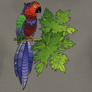 PARROT from South Seas T-Shirts - Women's Premium T-Shirt