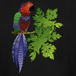 PARROT from South Seas T-Shirts - Men's Tall T-Shirt