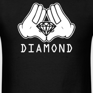 Cartoon Hands Diamond - Men's T-Shirt