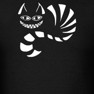Cheshire Cat Alice In Wonderland Funny - Men's T-Shirt