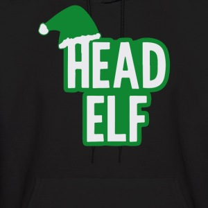 Christmas Head Elf - Men's Hoodie