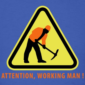 building_worker_09_2016_3c03 T-Shirts - Men's T-Shirt