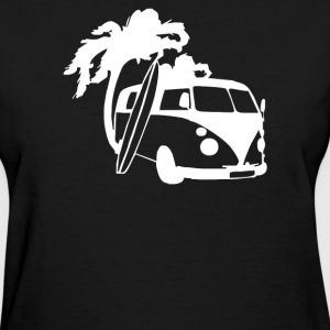 Camper Van Surf Split Retro - Women's T-Shirt