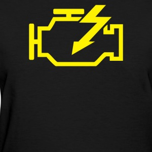 Check Engine Light - Women's T-Shirt