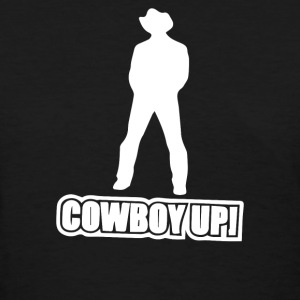 cowboy up - Women's T-Shirt