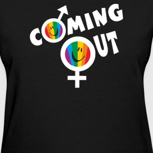 coming out - Women's T-Shirt