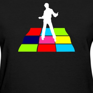 Disco Man On Dance Floor - Women's T-Shirt