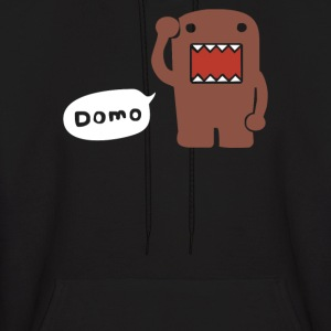 DOMO KUN JAPANESE TV, ANIME, MANGA COMICS - Men's Hoodie