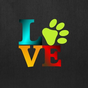 LOVE - PAW - Tote Bag