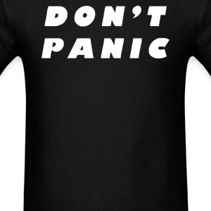 Don't Panic Hitchhikers Guide Tee - Men's T-Shirt