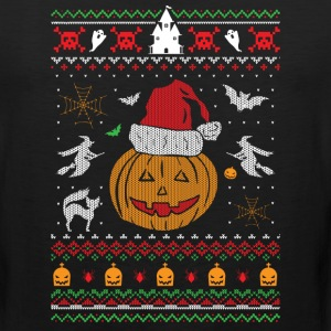Ugly Christmas Sweater Halloween Edition Sportswear - Men's Premium Tank