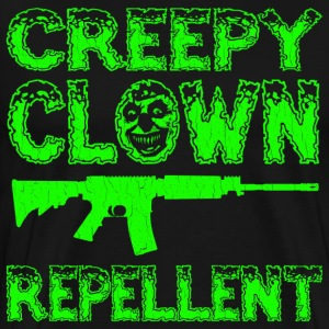 Funny - Creepy Clown Repellent - Men's Premium T-Shirt