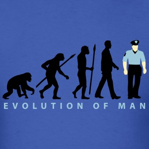 evolution_a_us_cop_police_marshall_09_20 T-Shirts - Men's T-Shirt
