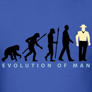evolution_b_us_cop_police_marshall_09_20 T-Shirts - Men's T-Shirt