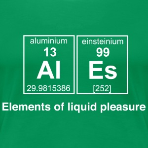 Ales. Elements of Liquid Pleasure T-Shirts - Women's Premium T-Shirt