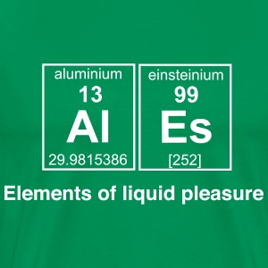 Ales. Elements of Liquid Pleasure T-Shirts - Men's Premium T-Shirt