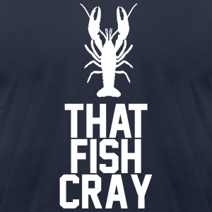 Fish Cray T-Shirts - Men's T-Shirt by American Apparel