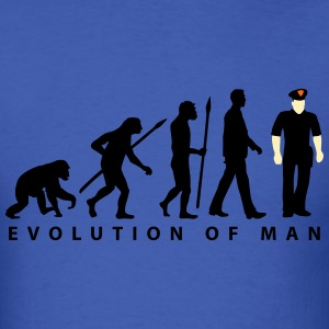 evolution_c_us_cop_police_marshall_09_20 T-Shirts - Men's T-Shirt