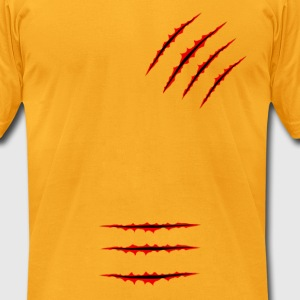 Scars - Men's T-Shirt by American Apparel