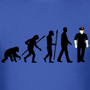 evolution cop marshall sheriff 09 2016 T-Shirts - Men's T-Shirt