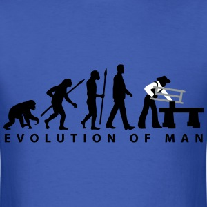 evolution_carpenter_d_3c T-Shirts - Men's T-Shirt