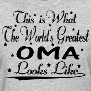 World's Greatest Oma... T-Shirts - Women's T-Shirt
