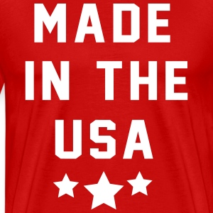 Made in the USA T-Shirts - Men's Premium T-Shirt