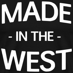 Made in the West T-Shirts - Men's Premium T-Shirt