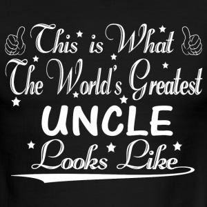 World's Greatest Uncle... T-Shirts - Men's Ringer T-Shirt