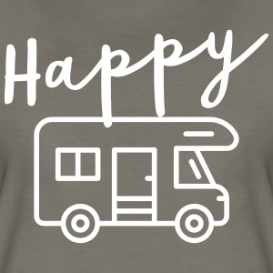Happy Camper T-Shirts - Women's Premium T-Shirt