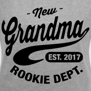 New Grandma 2017 T-Shirts - Women´s Roll Cuff T-Shirt