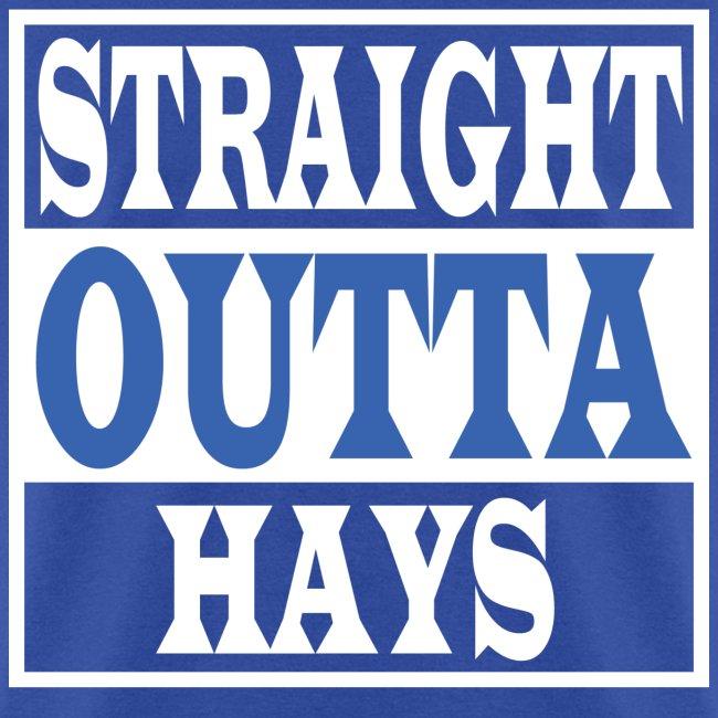 Straight Outta Hays Blue