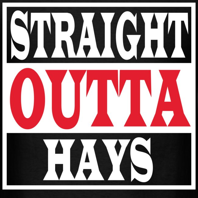Straight Outta Hays Red