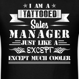 Tattooed Sales Manager - Men's T-Shirt