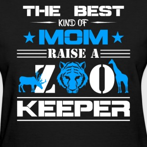Zoo Keeper Mom Shirts - Women's T-Shirt