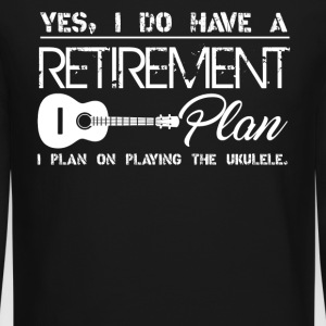 Retirement Plan On Playing Ukulele - Crewneck Sweatshirt