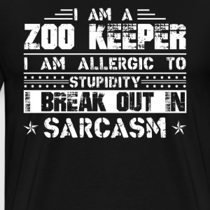 Zoo Keeper Shirts - Men's Premium T-Shirt