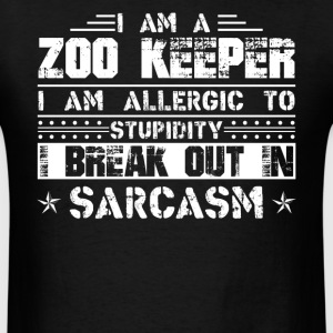 Zoo Keeper Shirts - Men's T-Shirt