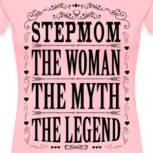 Stepmom The Legend... T-Shirts - Women's Premium T-Shirt