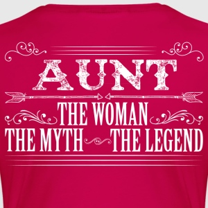 Aunt The Legend... T-Shirts - Women's Premium T-Shirt