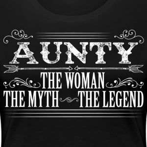 Aunty The Legend... T-Shirts - Women's Premium T-Shirt