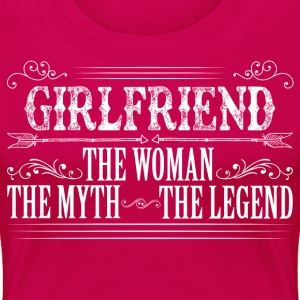 Girlfriend The Legend... T-Shirts - Women's Premium T-Shirt