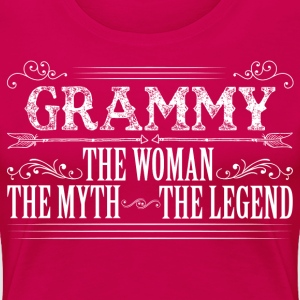 Grammy The Legend... T-Shirts - Women's Premium T-Shirt
